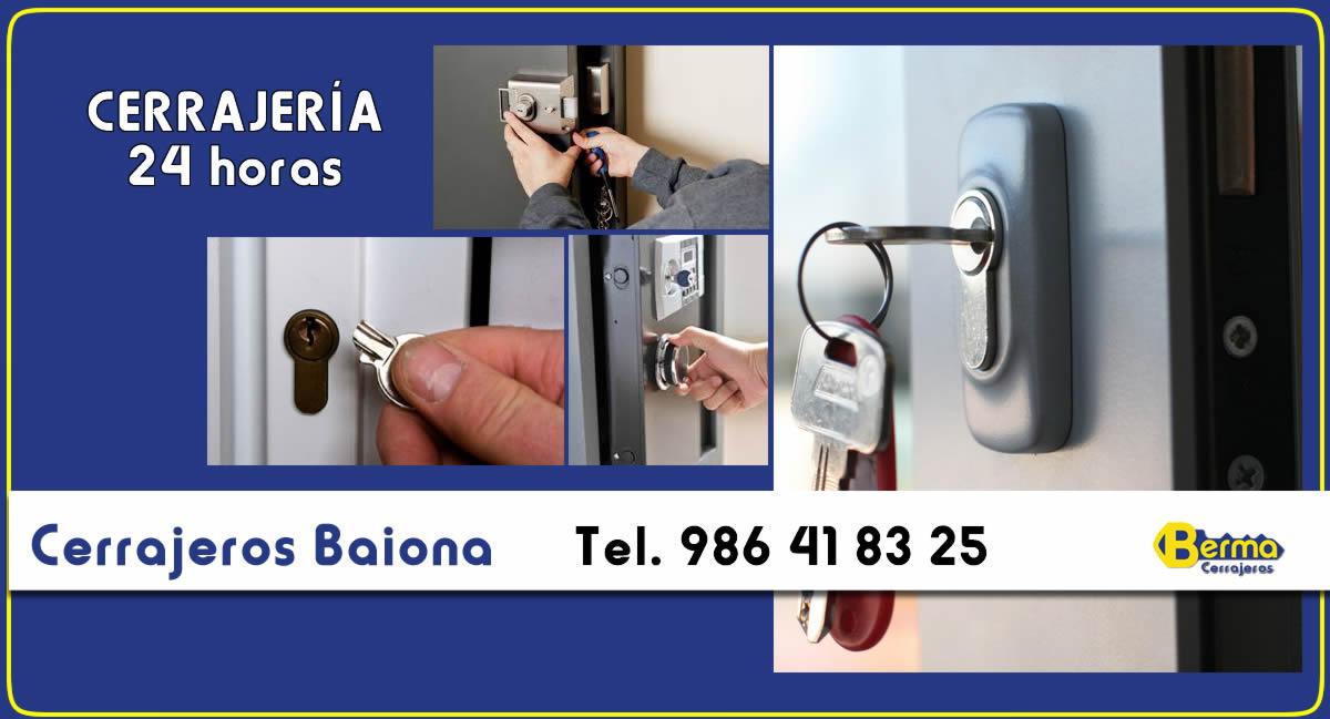 cerrajeros 24 horas en Baiona Berma
