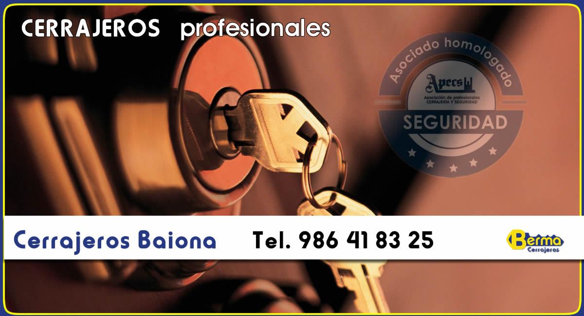 cerrajeros en Baiona Berma
