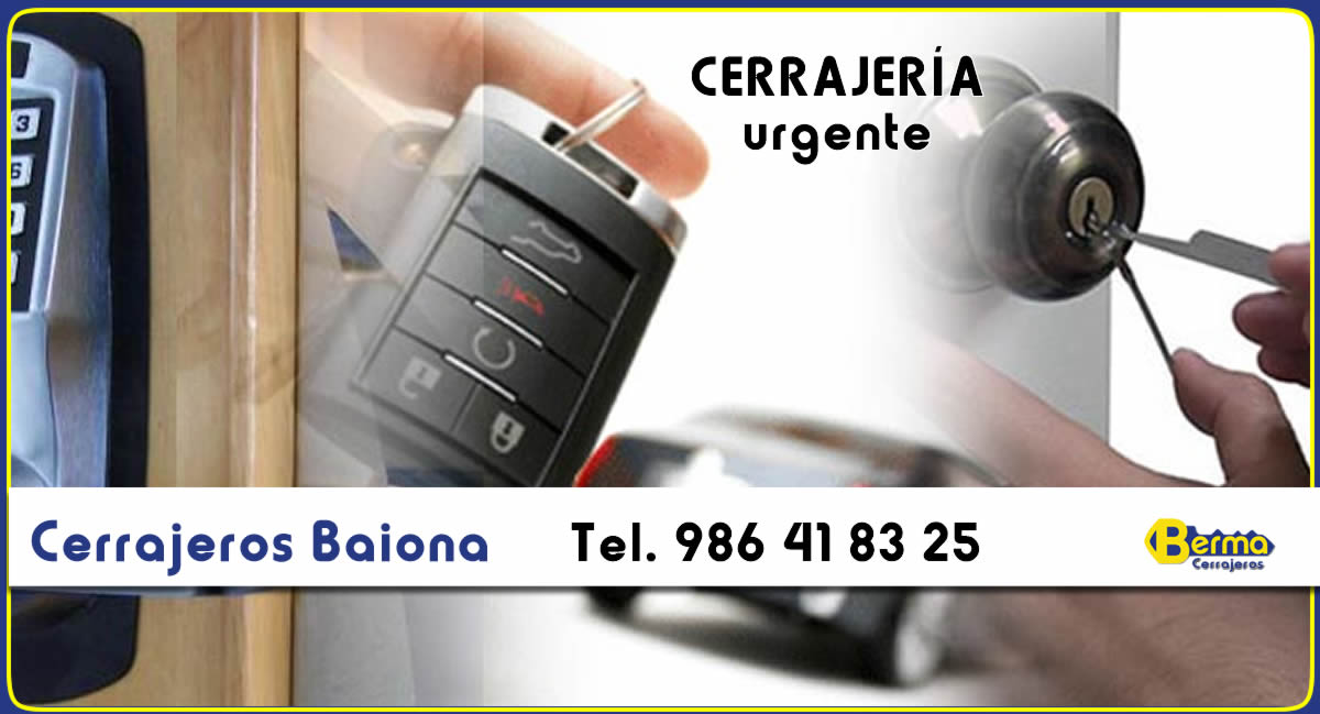 cerrajeros urgentes en Baiona berma