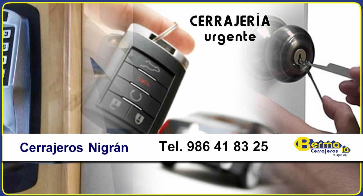 cerrajeros urgentes en nigran berma